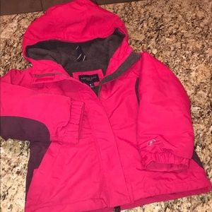 Land's End Girls Winter Jacket Small 4